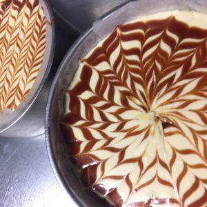 キャラメルクリームチーズケーキ